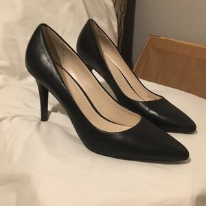 Flawless Cole Haan Black Leather Heel